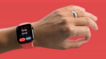 Apple представила бесконтактное управление Apple Watch